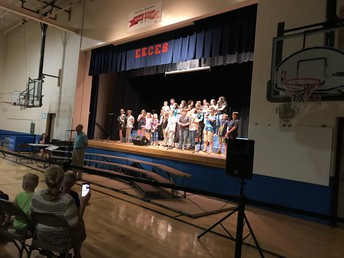 Fifth Grade Chorus Rocks the house