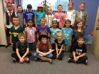 Mrs. Connelly's Class: Famous Person Dress Up Day