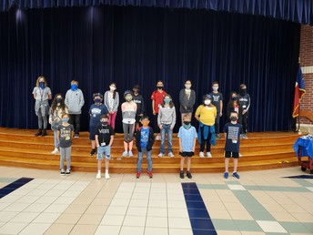 Several TCI Students won a bike helmet during Safety Week!