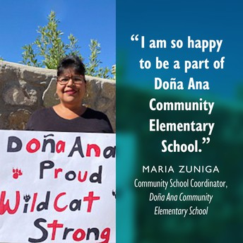 Meet Maria Zuniga, Doña Ana Community Elementary School CSC