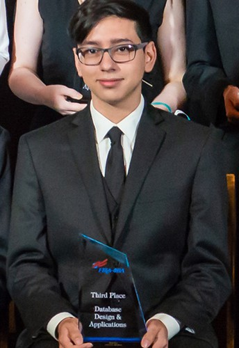 Kerr High School Class of 2018 graduate Daniel Flores received national recognition at the Future Business Leaders of America (FBLA) National Leadership Conference.