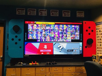 OUR AMAZING SWITCH SCREEN!
