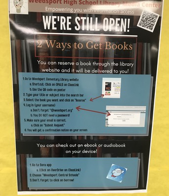 Two ways to still get books!
