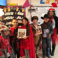 Book Characters in Mrs. Robinson's room