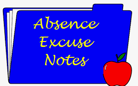 REMINDER:  Student Absence - Notes & Skyward