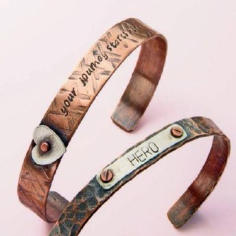 Metal Cuff Bracelet Class