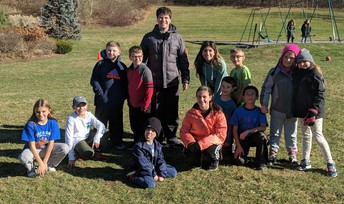 Shepaug's Spartan Club Visits Burnham School