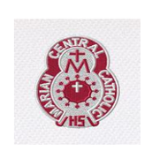 Marian Crest Embroidering