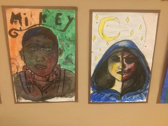 Art is an elective at the Dearborn Stem Academy.