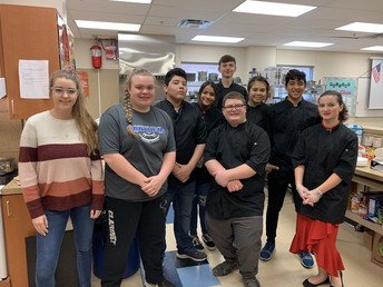 Culinary Arts and Food Nutrition Students