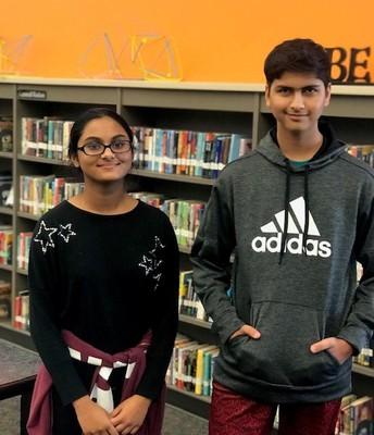 8th Gr. Spelling Bee Winners
