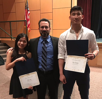 Fukuda and Yao Honored