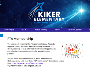 Join the PTA and Order Your Kiker Shirts