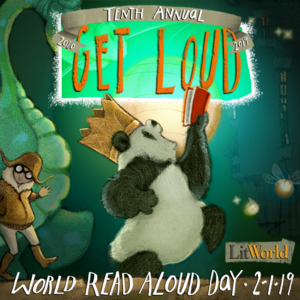 Friday, February 1st is World Read Aloud Day!
