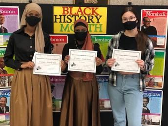Abdi wins Black History Month literature and art contest