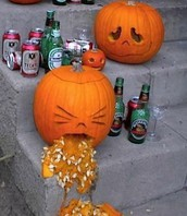 Boozy drivers frightful at Halloween