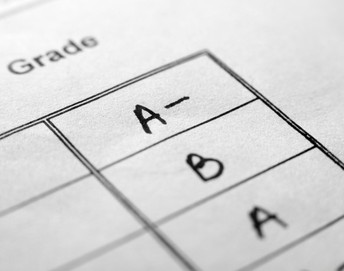 Requesting letter grades for high school courses