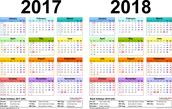 2017 - 2018 AISD Calendar