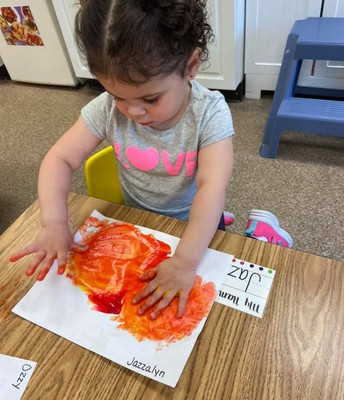 Mixing Colors and exploring paint texture