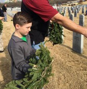 Wreaths Across America - 2nd Grade Service Project