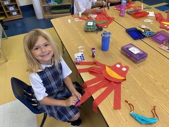 making an octopus