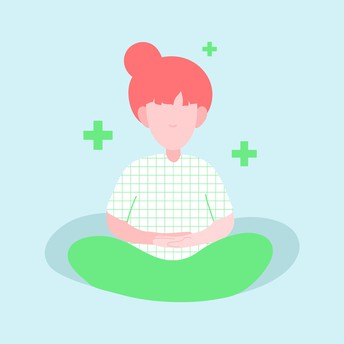 Practique meditación de gratitud