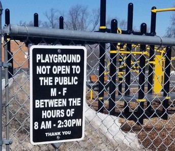 Playground Closed During School Hours