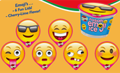 Free Emoji Ice in all Elementary School with Lunch Purchase on Friday the 13th!