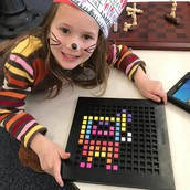 Kindergarten uses Bloxels