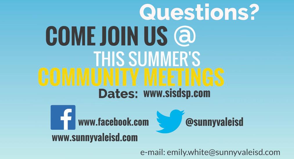 About Sunnyvale ISD / SISD Strategic Plan