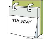 Guest Teacher Present on Tuesday