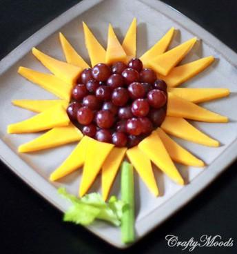 Sunflower Snack Time Idea