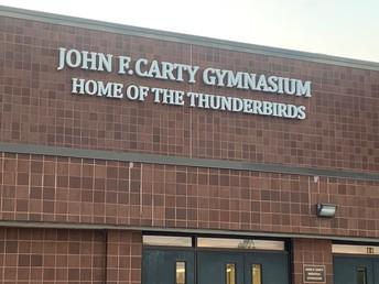 Welcome to the Thunderbird Gymnasium