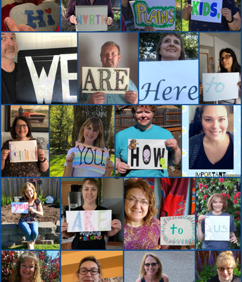 Staff message from last spring