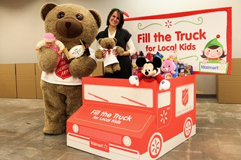 Salvation Army Fill the Truck