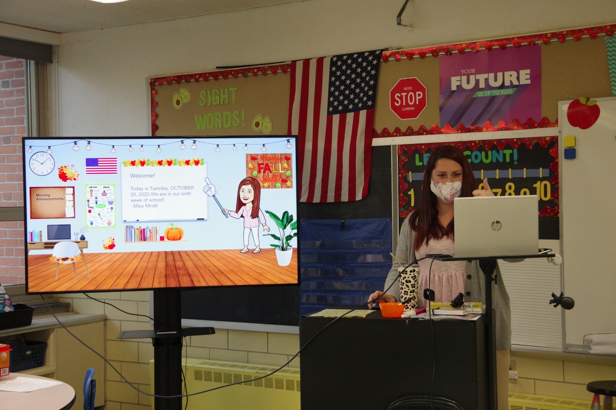 Remote and in-person teaching