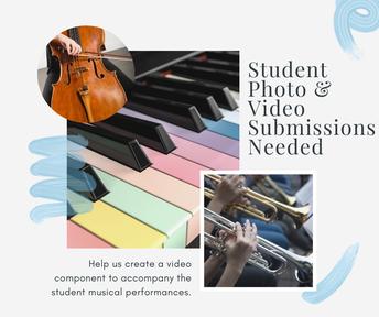 Student Photos and Videos Needed (Se necesitan fotos y videos de los estudiantes)