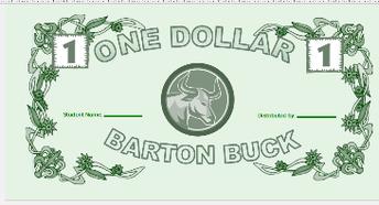 Barton Bucks!