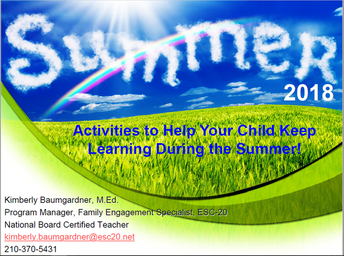 Activities to Help Your Child Keep Learning During the Summer