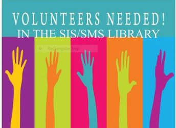 Volunteers needed in the library