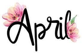 ** APRIL ** IMPORTANT DATES!!