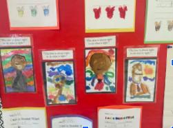 MLK Sketches in Kindergarten