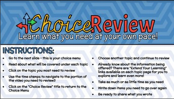 Choice Boards! - Click the image above!