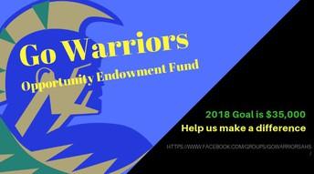 Go Warriors! AHS Opportunity Fund