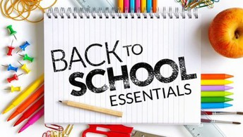 Back to School Essentials Continued: