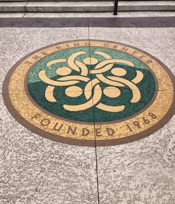 The Great Seal of the MLK Center in Atlanta, GA