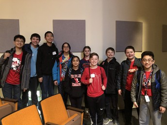 WMS 2019 MathCounts Team!