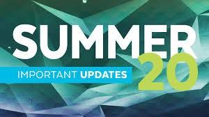Summer Updates: