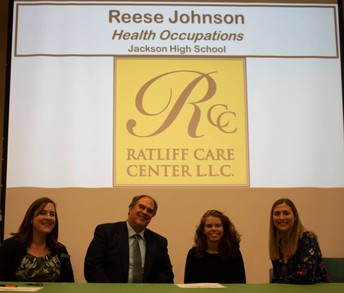 Reese Johnson, Health Occupations