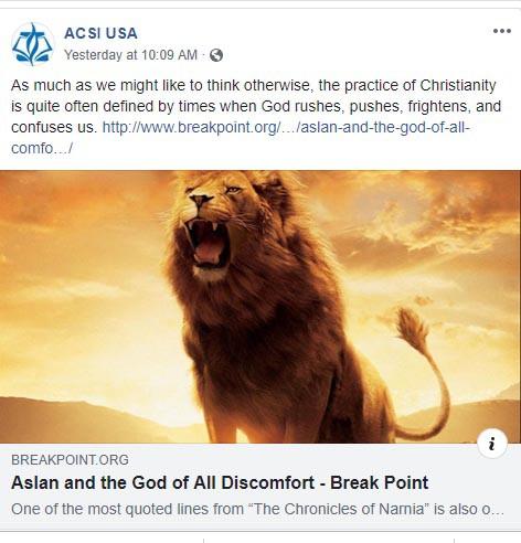 ACSI post on FB